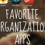 My top organization apps for personal and business