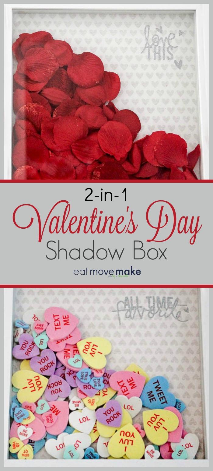 Valentine\'s Day Shadow Box