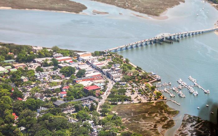 Beaufort waterfront map - Beaufort History Museum