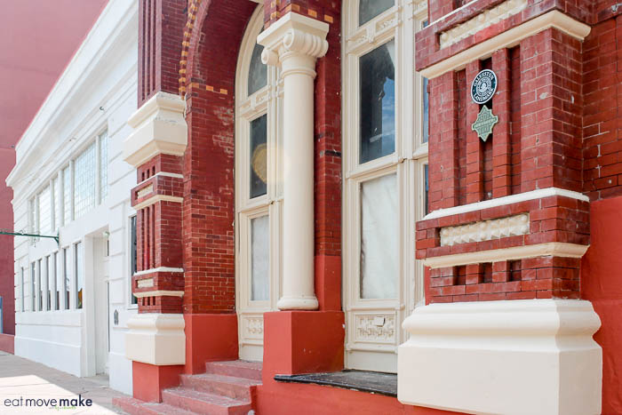 Galveston News Building landmark - downtown Galveston