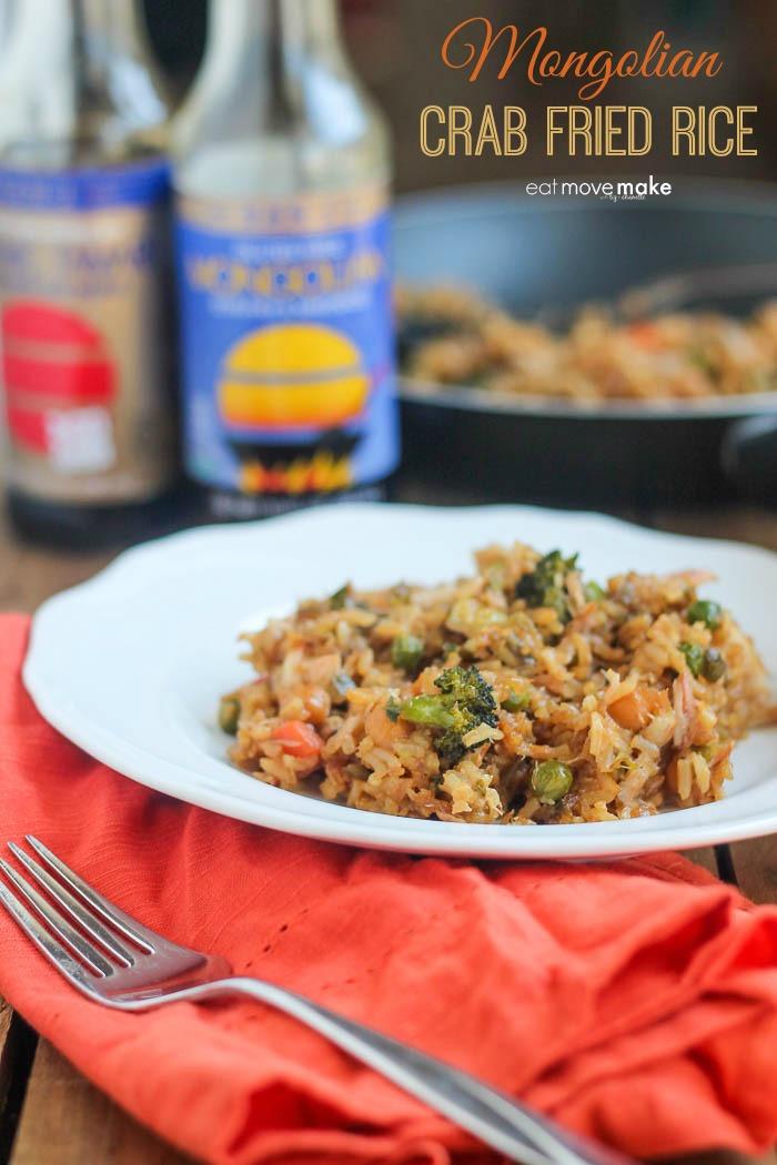 Mongolian Crab Fried Rice