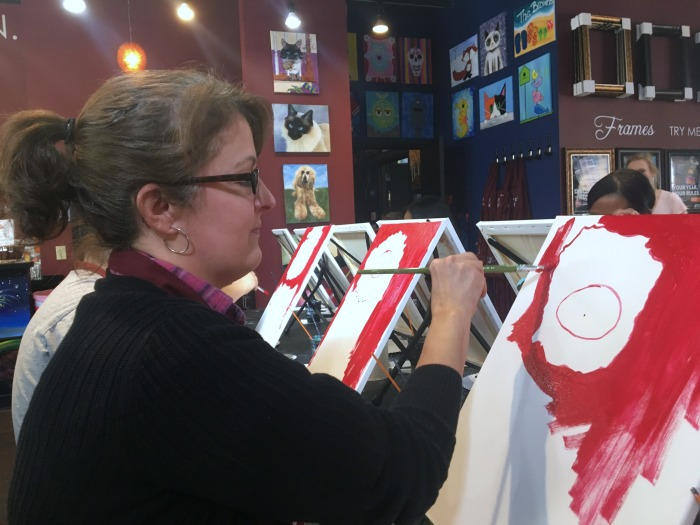 Pinot's Palette Liz painting