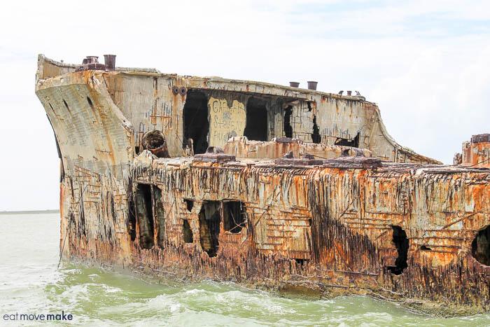 SS Selma concrete oil tanker