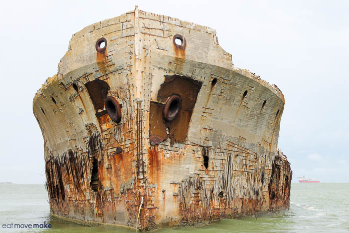 SS Selma oil tanker
