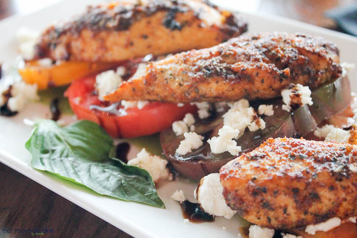Maceo with Blackened Chicken - BLVD Seafood - Galveston TX