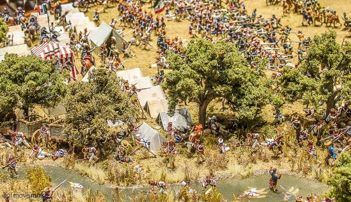 diorama of the battle of San Jacinto - The Bryan Museum
