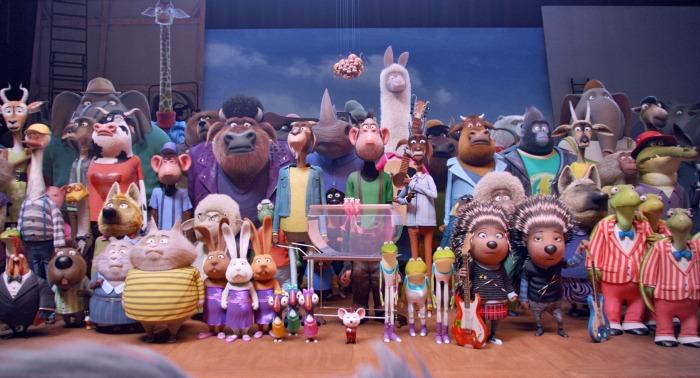 Sing cast