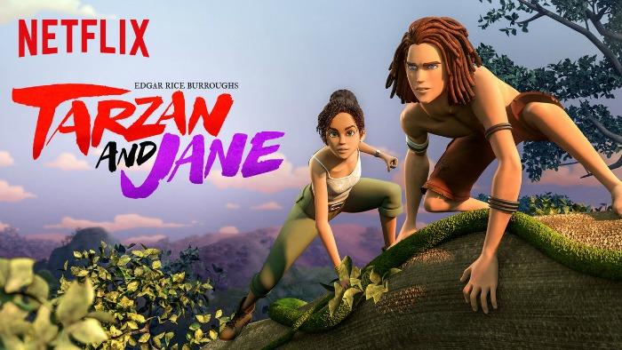 Tarzan and Jane on Netflix