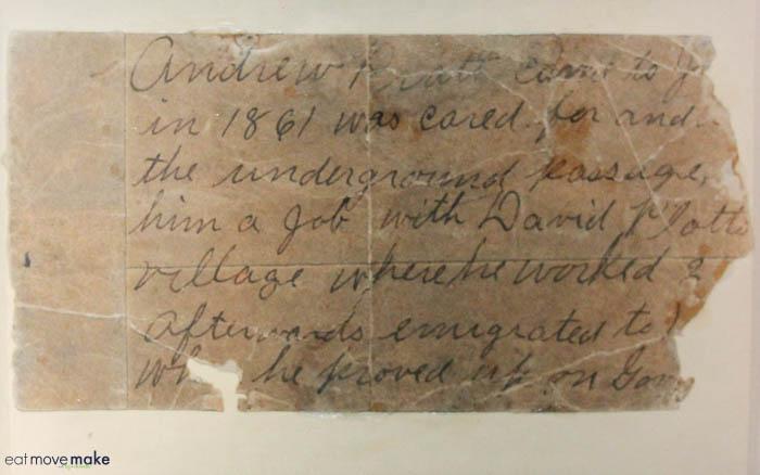 Andrew Pratt - slave who sought refuge at The Milton House