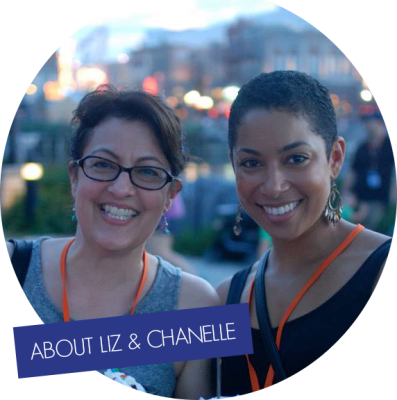 Liz and Chanelle | EatMoveMake.com