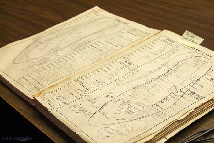 Lyndon B. Johnson's Lucchese fit book
