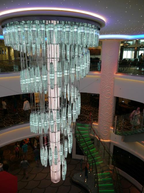 Norwegian Getaway chandelier