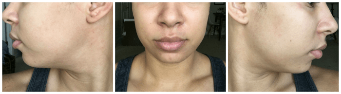 Rosehip and grapeseed oil as moisturizer