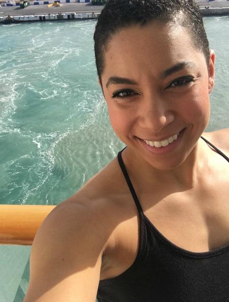 Setting sail selfie