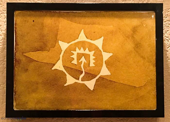Tigua Indian symbol