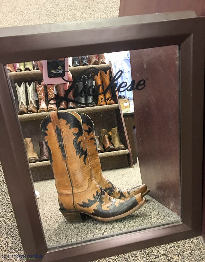 my Lucchese boots