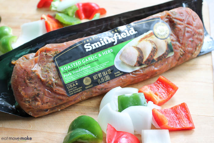 Smithfield roasted garlic and herb pork tenderloin