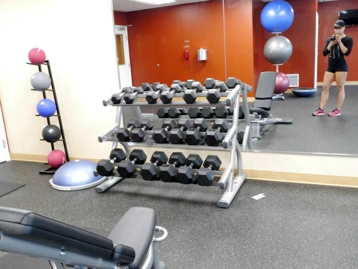 TownePlace Suites Austin North Tech Ridge gym