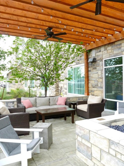 TownePlace Suites outdoor patio
