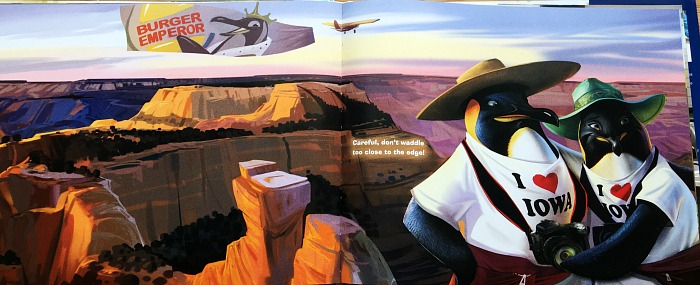 illustration from Penguins of America - James Patterson