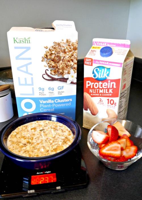 Kashi cereal protein nut milk