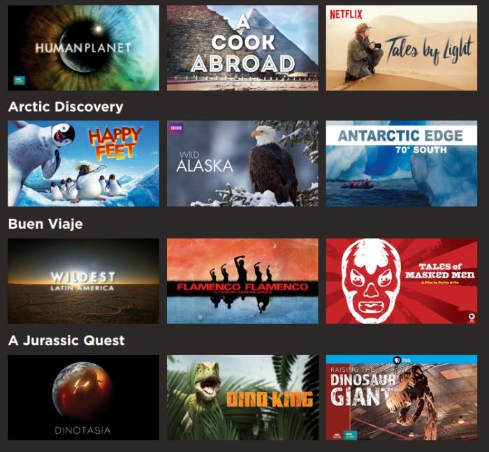 Netflix travel shows