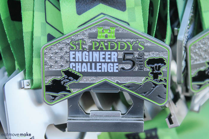 St. Paddy's Day Engineer Challenge medal