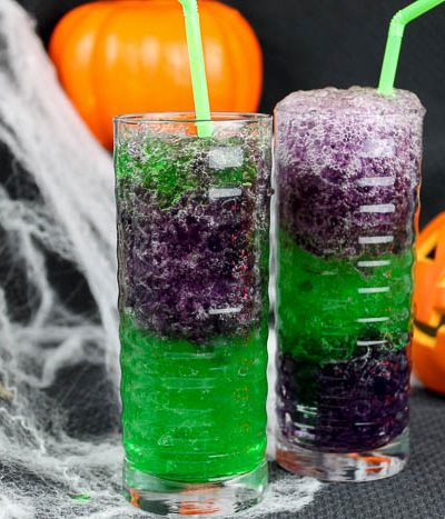 Halloween jello drink
