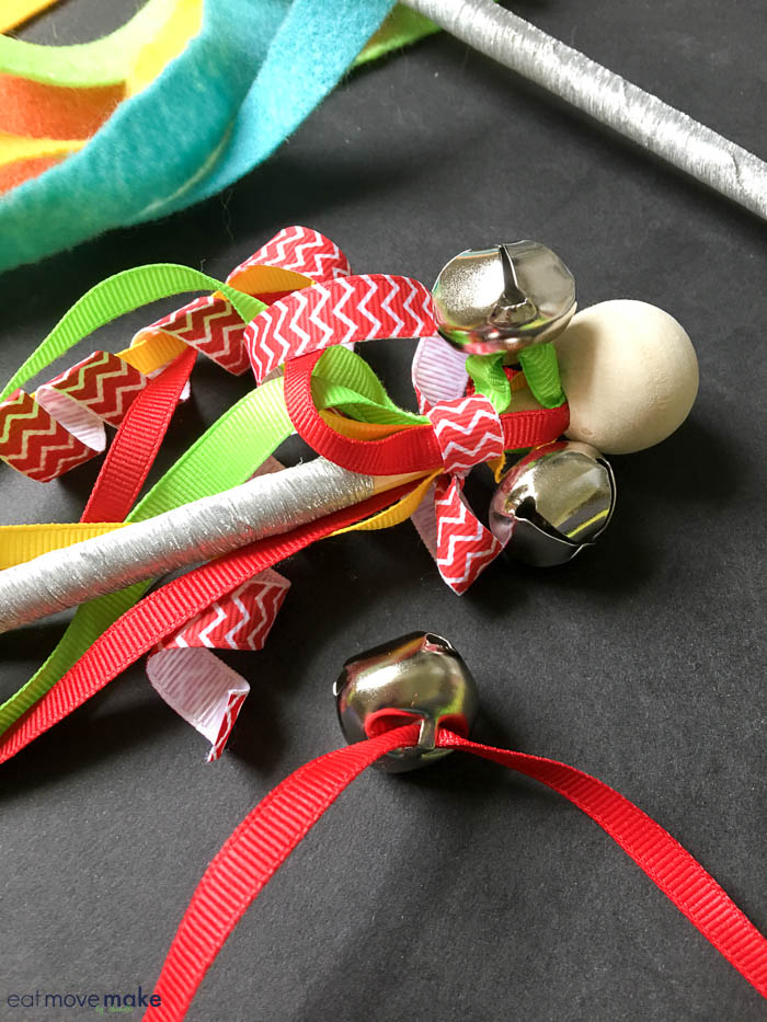 bells and ribbons