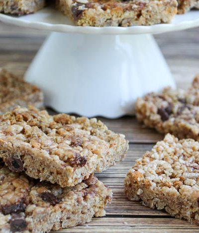 oatmeal scotchie crisp bars