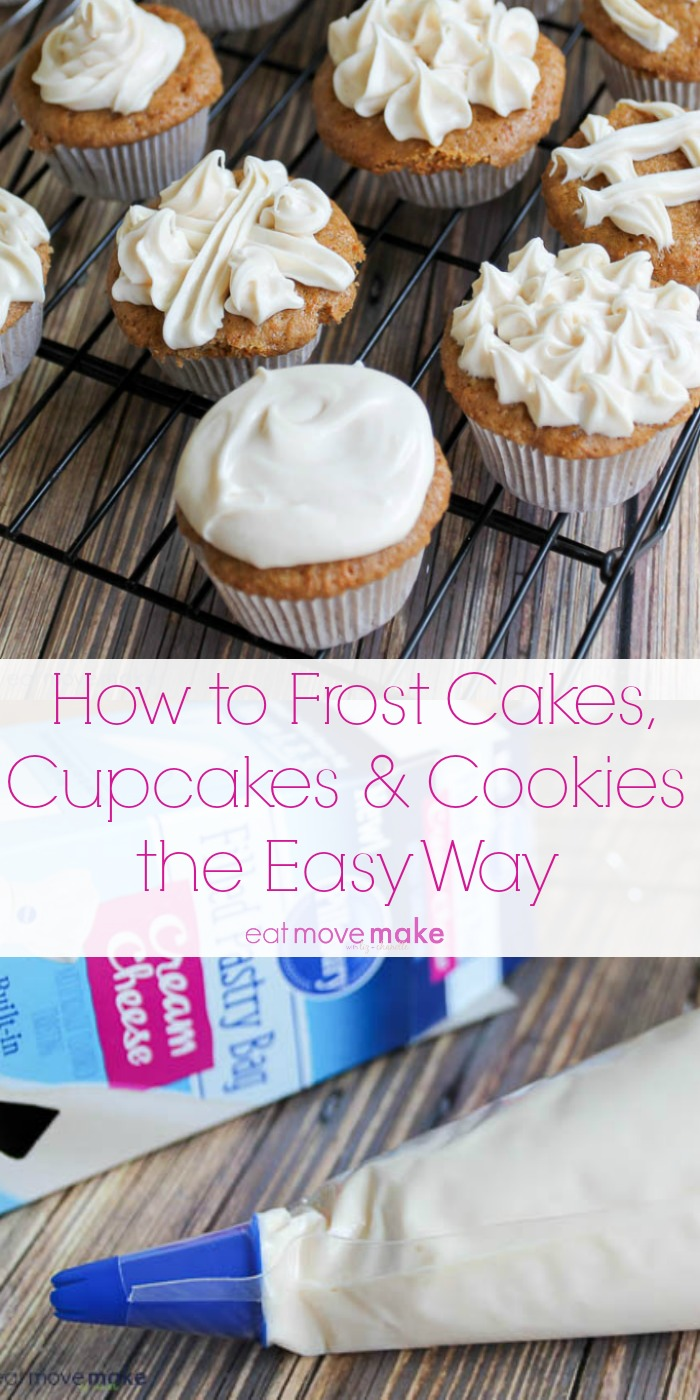 How to Frost Cakes, Cupcakes & Cookies the Easy Way