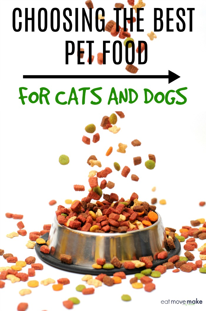 pet food for cats and dogs