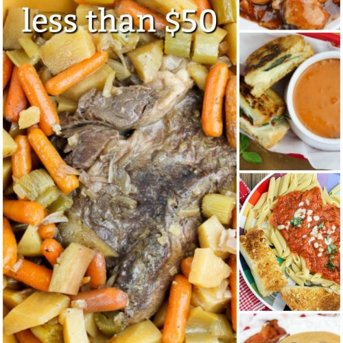 Dinner - 5 Meals for less than $50