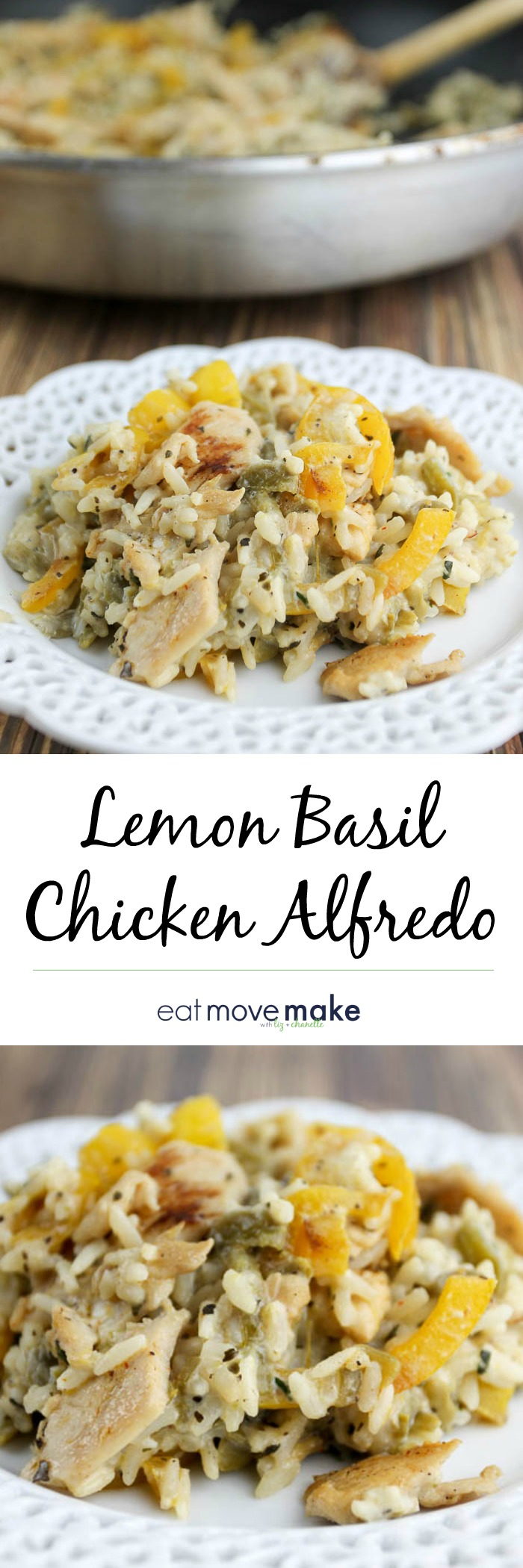 lemon basil chicken alfredo recipe