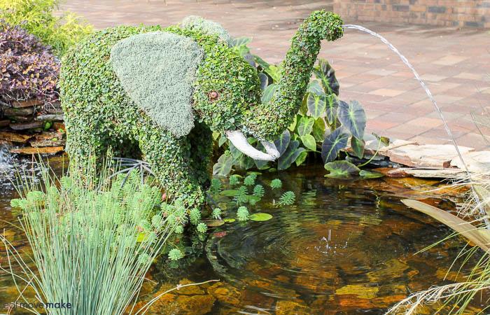 baby elephant topiary