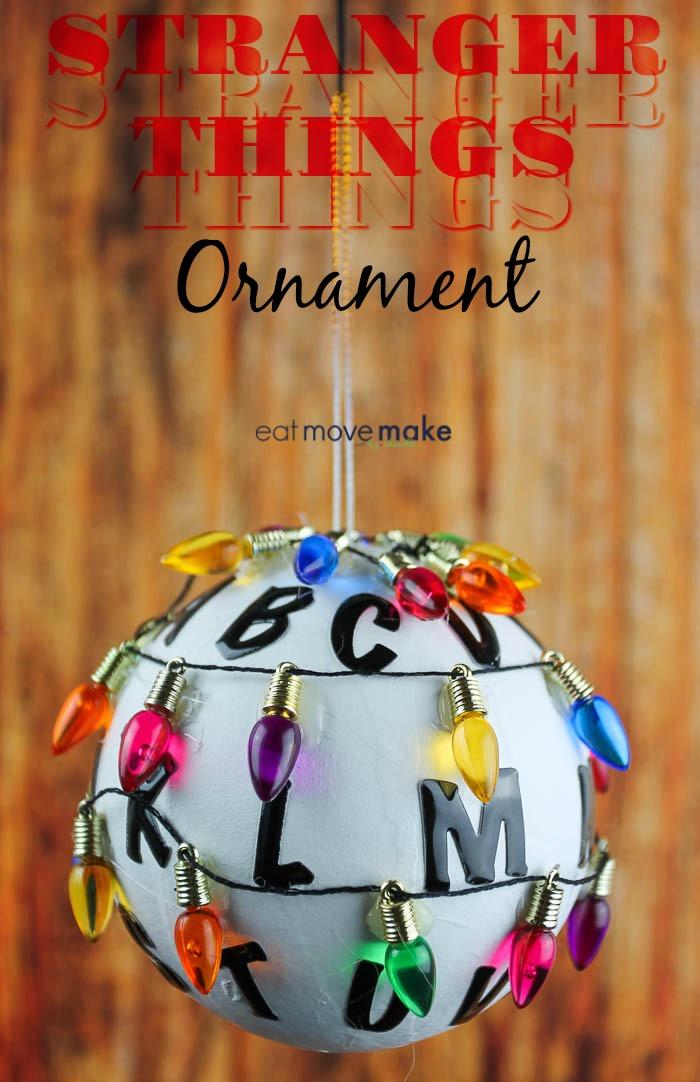 DIY Stranger Things Ornament