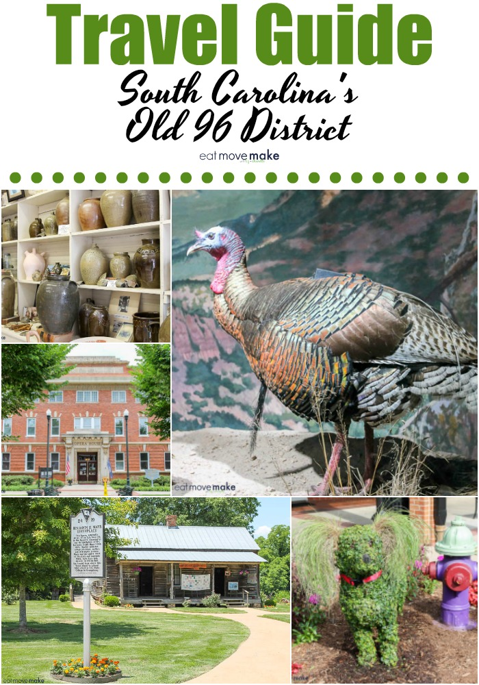 Travel Guide South Carolina's Old 96 District