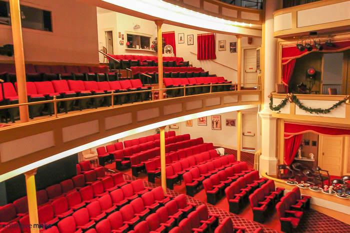 A large auditorium
