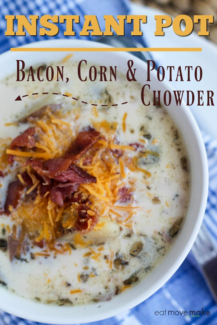 Bacon, Corn and Potato Chowder