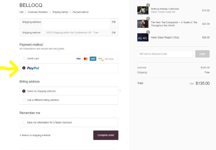 payment screenshot