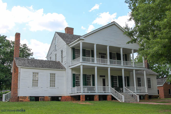 Brattonsville plantation home