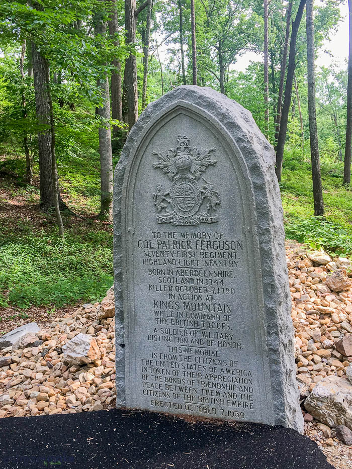 Bulldog Ferguson\'s grave at Kings Mountain