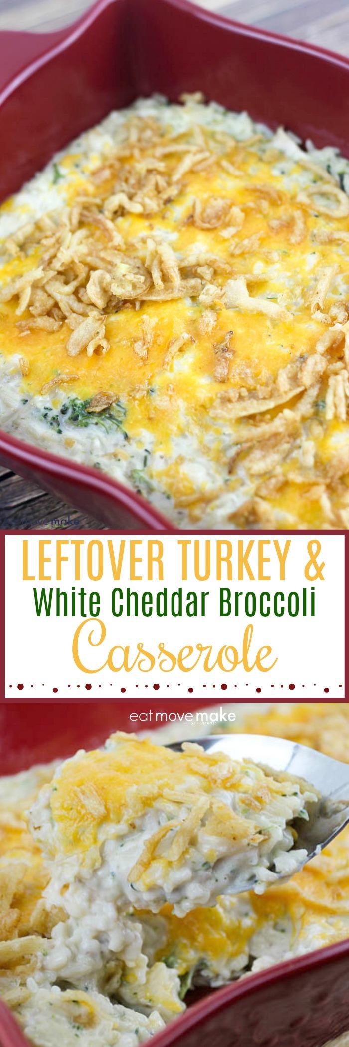 leftover turkey casserole
