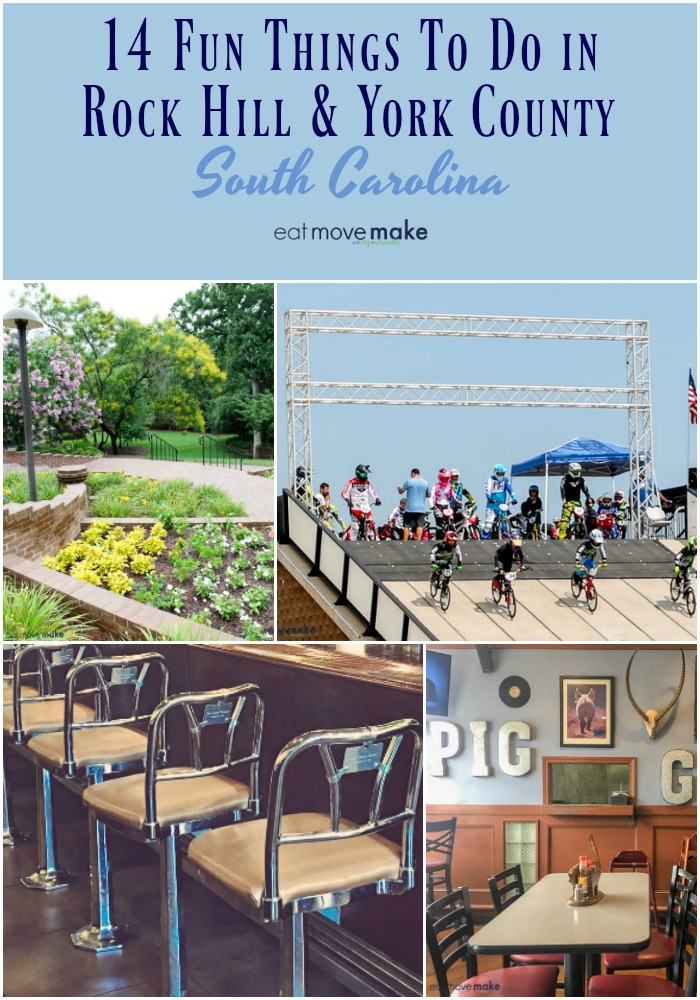 Things to do in Rock Hill, SC and York County - 14 ways to have fun for the whole family just minutes outside of Charlotte, NC. USA #SouthCarolina #RockHill #YorkCounty #travel