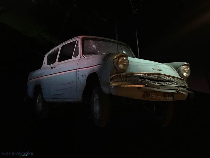 Weasley car