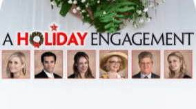 Holiday Engagement poster