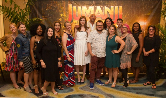 Interview with Jumanji Welcome to the Jungle Cast