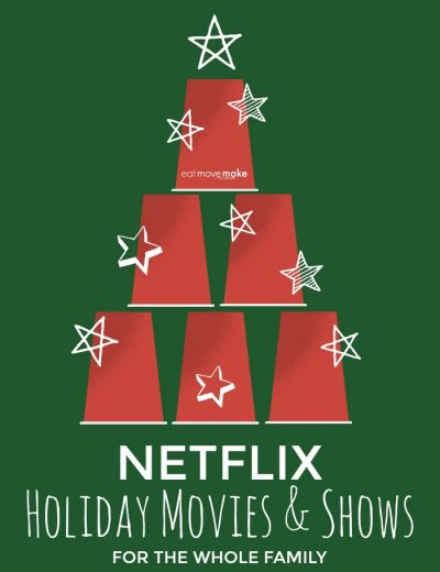 Netflix holiday movies sign