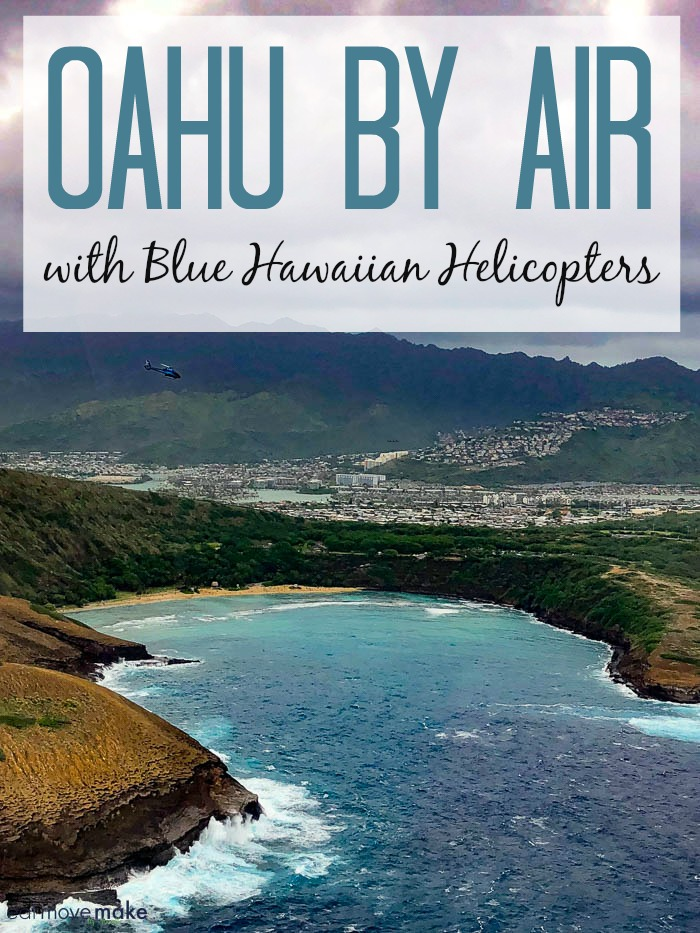 Oahu helicopter tour - Blue Hawaiian Helicopters