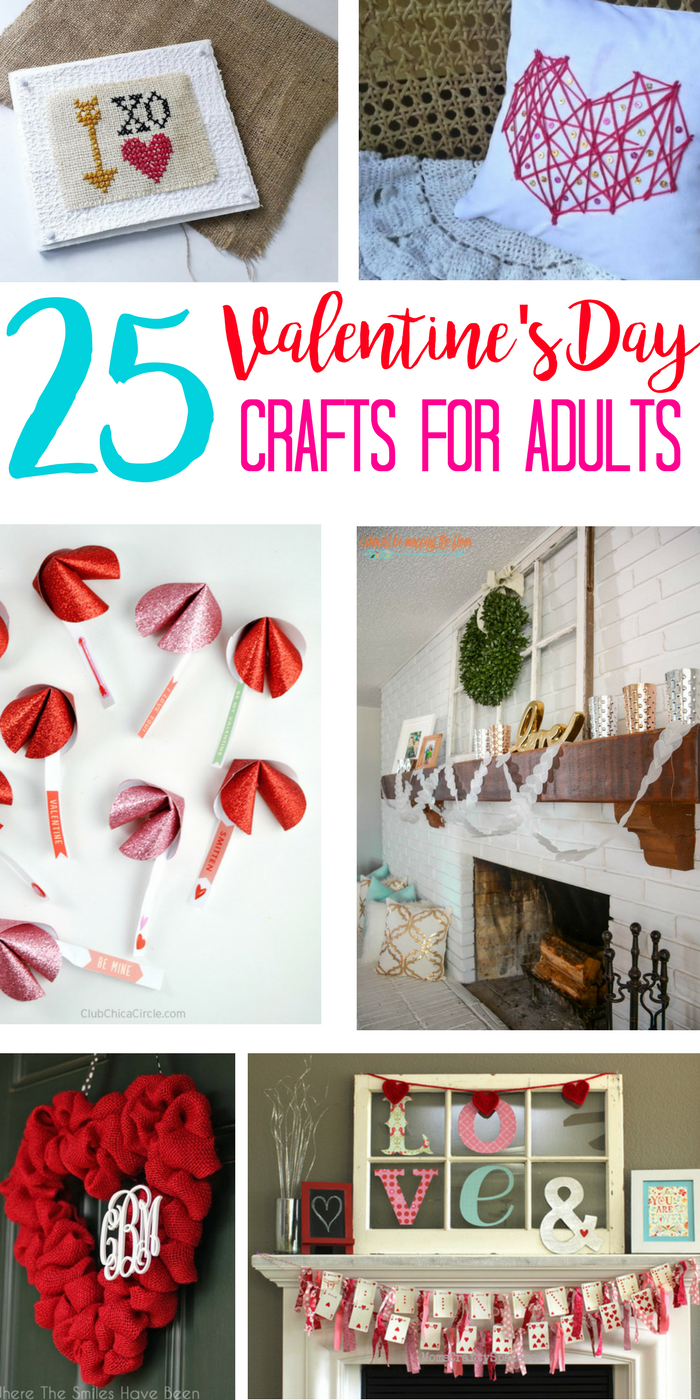 Valentine\'s Day Crafts for Adults